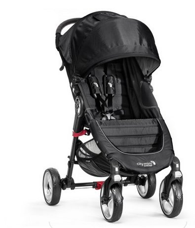 Baby Jogger City Mini 4 Wheel 2014 Teal front-875735