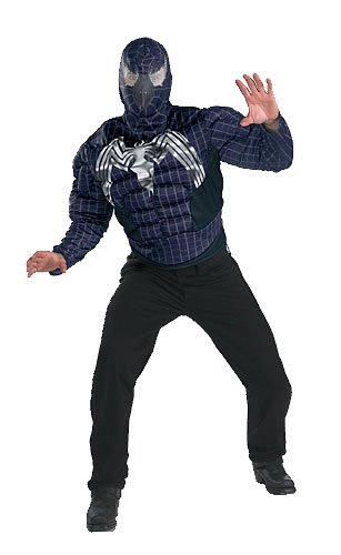 spiderman 3 venom mask. Spiderman 3 Venom Costume