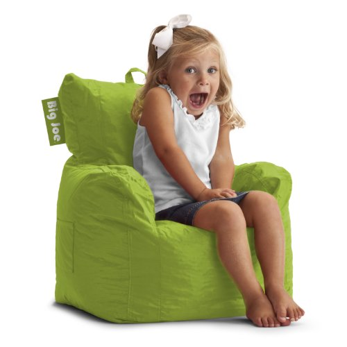 Big Joe Cuddle Chair, Spicy Lime front-408415