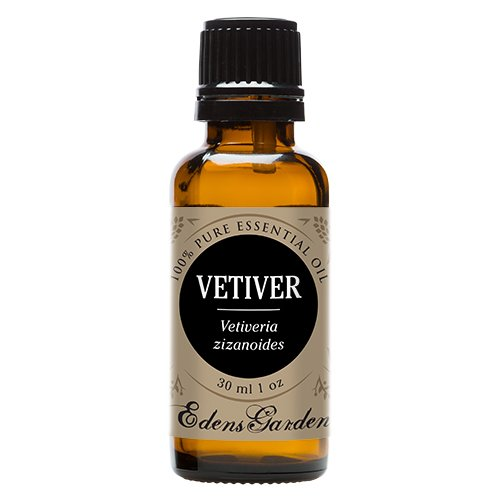 Vetiver 100% Pure Therapeutic Grade Essential Oil by Edens Garden- 30 ml