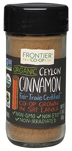 Frontier Natural Products Cinnamon, Og, Grnd Ceyln, Ft, 1.76-Ounce (Frontier Natural Products compare prices)