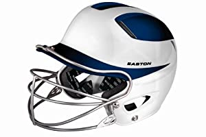 Buy Easton Natural Two-Tone Junior Batting Helmet with Mask by Easton