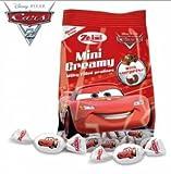 Zaini Cars Mini Creamy Milky filled Chocolate, Free Gift