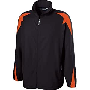 Holloway Mens Illusion Jacket (Small, Black/orange)