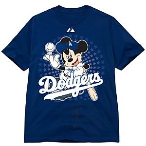 Los Angeles Dodgers Mickey Mouse Tee
