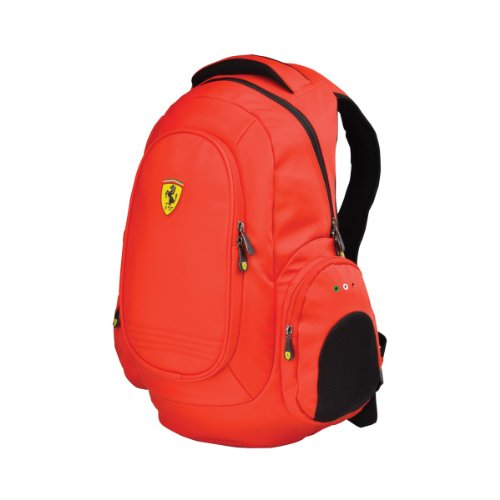Ferrari Heavy Duty Laptop Backpack (Red)