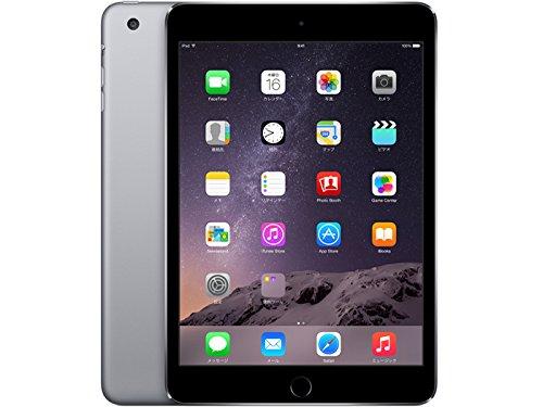 Apple iPad mini 3 Wi-Fiモデル 64GB MGGQ2J/A アップル アイパッド ミニ 3 MGGQ2JA スペースグレイ