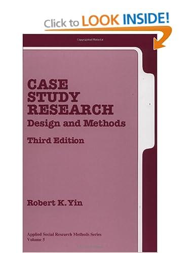 Exploratory Case Study Design Yin Dental Vantage Dinh