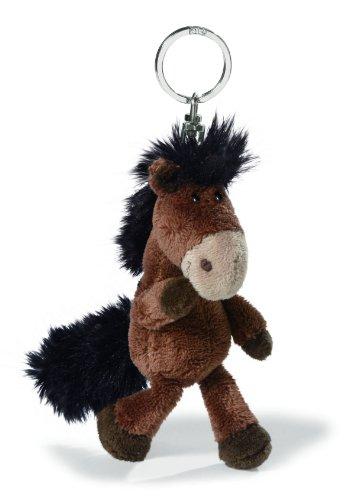 7 cm color marr/ón Llavero con caballo de peluche Nici Talisminis 33685