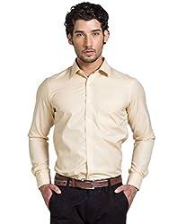 Klub Fox Yellow Color Formal Shirt for men