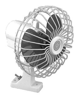 Seachoice 6 Inch Oscillating 12V Fan
