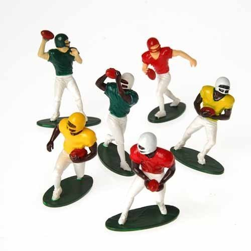 US Toy -Football Players Toy Figures, Set of 12 (Six Assorted Poses), 2.5""