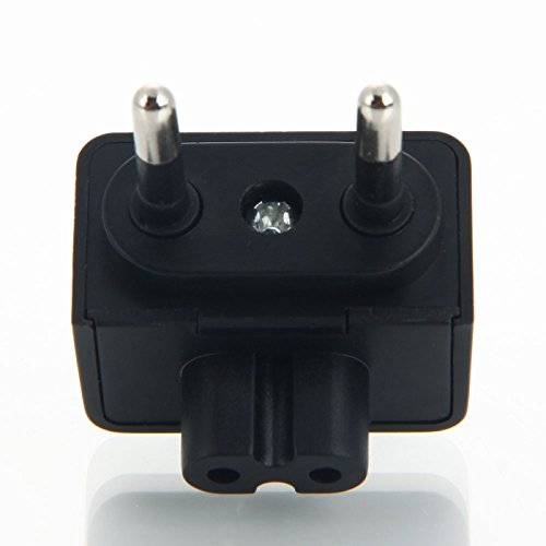 Kamera Ladegeräte - Praktische Kamera-Adapter (EU Standard) Schwarz