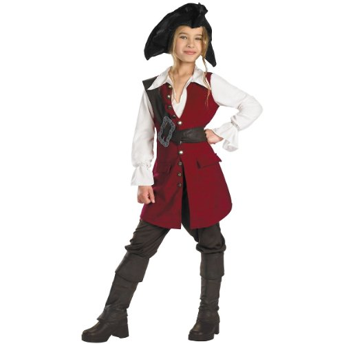 Deluxe Elizabeth Pirate Costume - Teen X-Large