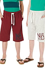 2 Pack Cotton Rich Joggers Shorts