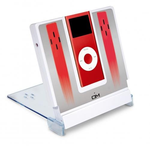 Station pour Ipod nano 2 Go Rouge