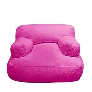 kids tween cuddle bean chair pink bean bag chairs. Black Bedroom Furniture Sets. Home Design Ideas