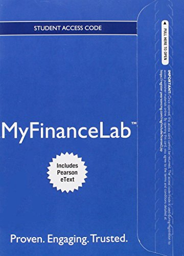 NEW MyFinanceLab with Pearson eText -- Access Card -- for Fundamentals of Corporate Finance (Myfinancelab compare prices)