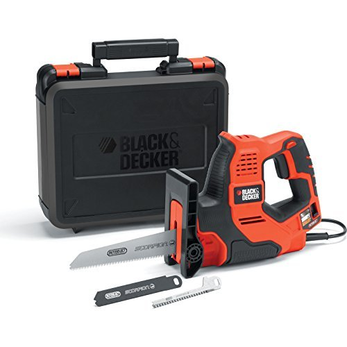 Precise Engineered Black & Decker SX-RS890K Autoselect Scorpion Saw 500w 240v [Pack of 1] - w/3yr Rescu3Â Warranty by BLACK+DECKER (Black And Decker Scorpion Saw compare prices)