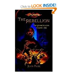 The Rebellion (Dragonlance: The Stonetellers, Vol. 1) by Jean Rabe