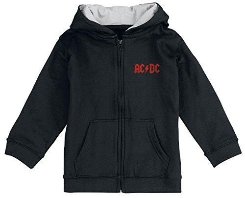 AC/DC Black Ice Giacca con cappuccio - bimbo nero 68/74