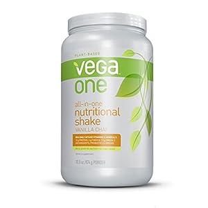 Vega One All-in-One Nutritional Shake, Vanilla Chai, Large Tub, 30.8oz