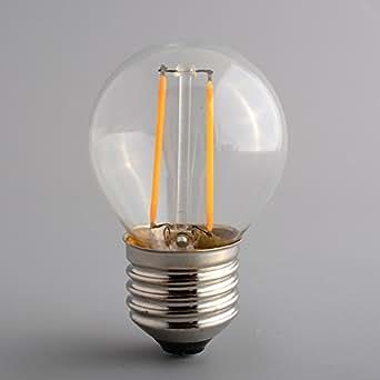 ampoule vintage r tro style edison lampe de bureau industrielle claire e27 g45 ampoule amazon. Black Bedroom Furniture Sets. Home Design Ideas