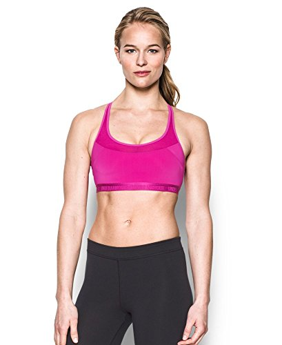 Under Armour Women's Armour Breathe Sports Bra Medium MAGENTA SHOCK