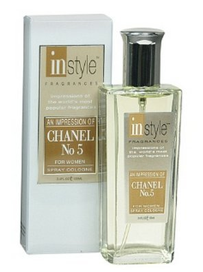 INSTYLE discount duty free Instyle Fragrances - An Impression Spray Cologne for Women (Channel No 5)