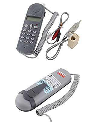 TFSeven Telephone Phone Lineman Butt Test Tester Tool Cable Set