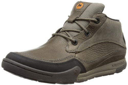 Merrell MOUNTAIN KICKS High Top Mens Beige Beige (BOULDER) Size: 9 (43.5 EU)