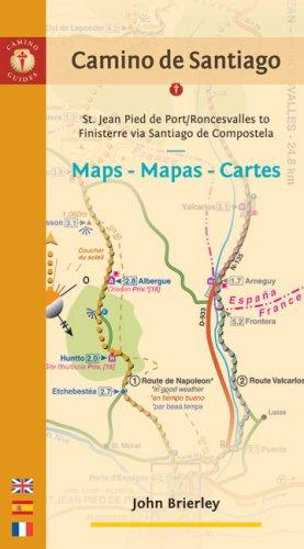 Camino de Santiago: St. Jean Pied De Port / Roncesvalles-finisterre Via Santiago De Compostela (Camino Guides)