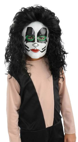 Kiss the Catman 1/2 Mask Costume Accessory