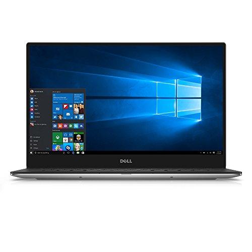"""Dell XPS9350-8008SLV 13.3"""" 3200x1800 Laptop (Intel Core i7-6560U 2.2GHz Processor, 16 GB RAM, 512 GB SDD, Windows 10 Microsoft Signature Image) Silver"""