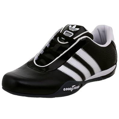 Amazon com adidas originals men s goodyear race driving shoe black