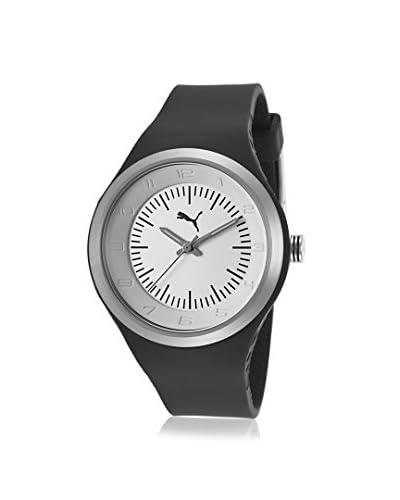 PUMA Women's PU102642003 Black/White Plastic Watch