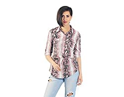 Chique Women's Shirt (pinksts_Pink_Small)