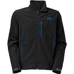 Men\'s The North Face Apex Bionic Jacket Black/Blue Size Large
