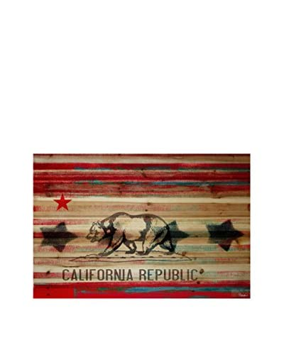 Parvez Taj Cal Repub Pine Wood Wall Art