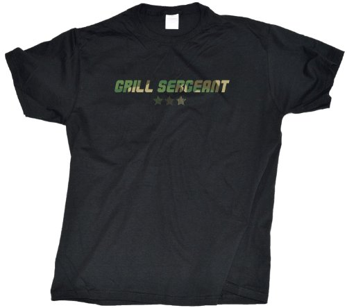 Grill Sergeant Adult Unisex T-Shirt / Funny Grilling Tee