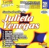 echange, troc Karaoke - Latin Stars Karaoke: Julieta Venegas