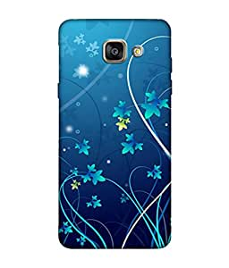 Samsung Galaxy A7 2016 Designer / Printed Back Cover -(Map)