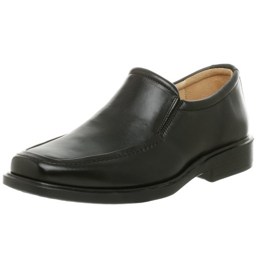 Johnston & Murphy Men's Goodwin Venetian Slip-on Loafer,Black,9.5 M