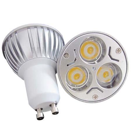 Green House® Dimmable 9W Gu10 Energy Saving Led Bulb Light Lamp ,100~245V Led Polished Finish Spotlight -Warm White