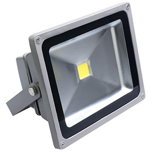 Auralum-50W-Super-Hell-230V-IP65-Wasserdicht-Grau-Kaltwei-LED-Auenstrahler-Fluter-Flutlicht