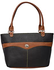Roshiaaz Black Formal Handbag