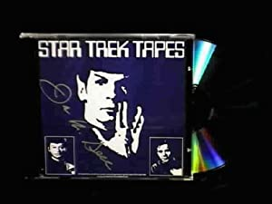 Collectible STAR TREK TAPES signed CD from the 1975 Chicago Star Trek Convention VERY RARE & HARD TO FIND!!!!!