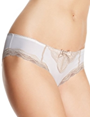 Limited Collection Caged Floral Lace Brazilian Knickers