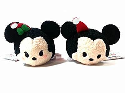 Disney ''Tsum Tsum'' Holiday Mickey & Minnie Plush set