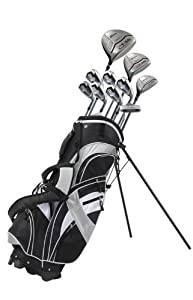 Precise GT-R Men's Tall Complete Set (Right Hand, Black/Silver, +1-inch)